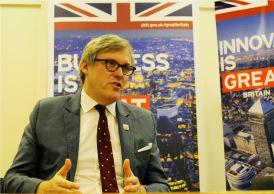 Andrew Patrick, British Ambassador to Myanmar